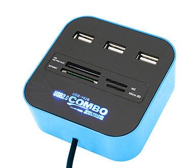 USB-3-Port-Hub-Card-Reader