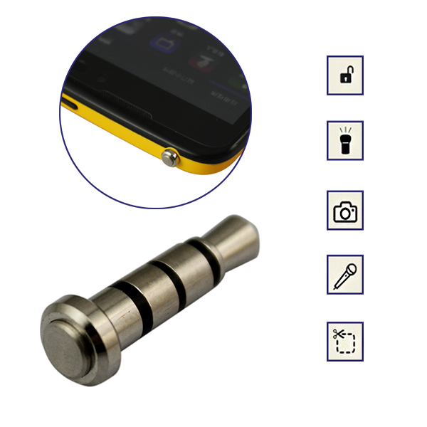 Алматы Многофункциональная кнопка-заглушка для мобильного телефона
