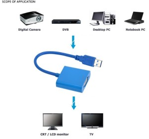 Adapter USB 3.0 to VGA (2)